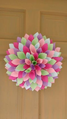 Paper Dahlia Decoration Customizable