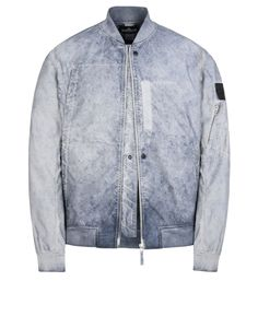 661940603 ASYM BOMBER JACKET WITH DROP AND GATEWAY POCKETS (TPX-POLYESTER, TC+FALLOUT COLOUR TREATMENT INSIDE)