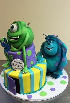 Mike and Sulley by Alliance Bakery, via Flickr