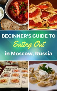 Moscow foodies guide for everyone, who enjoys good food, but has fear that Russian cuisine didn't change since Soviet times.