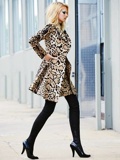 Nadine Leopold for Glamour Russia by Derek Kettela - GUCCI Fall 2014