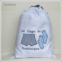 sac linge caleçon chaussette dominique