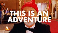 Small pop of red with bandit hats... the life aquatic with steve zissou bill murray