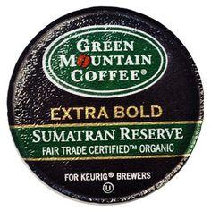 smoky-sweet, complex dark roast coffee from Green Mountain K-Cups.