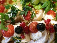 Caprese Salad, Fruit Salad, Food, Fruit Salads, Meals, Yemek, Macedonia, Insalata Caprese, Eten