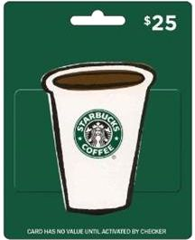 Colie's Kitchen: $25.00 Starbucks Gift Card Giveaway
