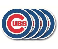Chicago Cubs Coaster Set - 4 Pack