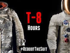 Time is running out! Less than 8 hours left to gain unprecedented access to the conservation process of two historic spacesuits and claim exclusive rewards. Back #RebootTheSuit today!