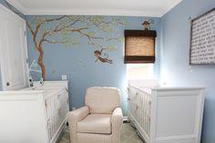 Gender Neutral Nursery for Twins