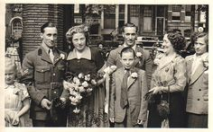 Amsterdam 1948 My parents got married
