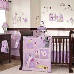Lambs & Ivy Garden Safari 5pc Crib Bedding Set #LambsandIvy