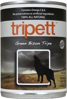 PetKind Tripett Original Formula Green Bison Tripe Canned Dog Food