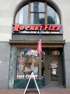INDIANAPOLIS, PLAINVILLE AND WINONA LAKE, Indiana . Rocket Fizz Soda Pop and Candy Shops