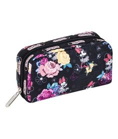 Minnie Floral Cosmetic Bag #MinnieStyle
