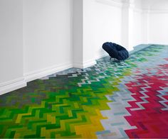 Incredible Floor by Raw Edges Design Studio.: Wow. It would be incredible to do a smaller scale version of this in a home.