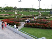 Micaela Bastidas park, south of Parque Mujeres