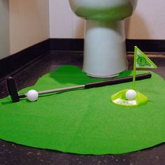 Fancy - Putting Around Toilet Golf