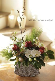 新春を飾る花