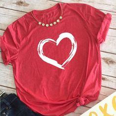 valentine shirts  lover  tops  love  t shirt  women  tee b7985ab02