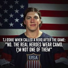 TJ Oshie Quote US Team Hero Wallpapers Backgrounds
