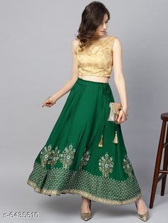 Skirts Stylish printed Women's Skirts Fabric: Net Pattern: Embellished Multipack: 1 Sizes:  Free Size (Waist Size: 28 in, Length Size: 40 in) Country of Origin: India Sizes Available: Free Size, 32, 34, 36, 38, 40, 42, 44   Catalog Rating: ★4 (3230)  Catalog Name: Women Western Skirts CatalogID_1023967 C79-SC1040 Code: 562-6435610-885