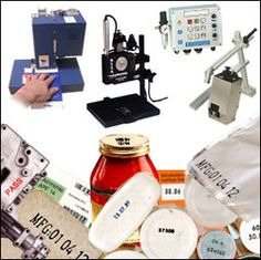 industrial coding and printing system used in grocery packaging