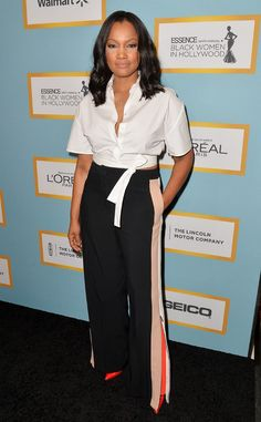 Garcelle Beauvais from 2016 Essence Black Women in Hollywood Luncheon: Red Carpet Arrivals | E! Online