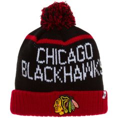 new product de108 5ffad Chicago Blackhawks Black, White, and Red