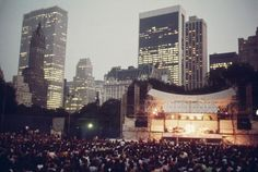 Can't wait to see some concerts in Central Park!