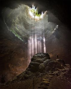 Jomblang Cave Central Java Indonesia photo by @kyrenian by fantastic_earth