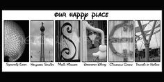 DISNEY Art Print  Our Happy Place  The by MagicalExpressions, $30.00