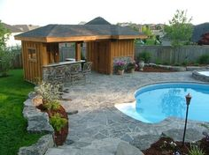 Pool Shed Design Ideas, Pictures, Remodel and Decor