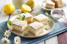 Juditka konyhája: ~ CITROMOS TÚRÓS PITE ~ Cornbread, Tart, Ethnic Recipes, Food, Millet Bread, Pie, Essen, Tarts, Meals