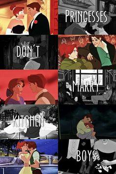 Princesses dont marry kitchen boys - Dimitri - Anastasia