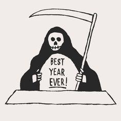 2016 — Best Year Ever! | Illustration - David J Weissberg