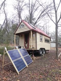 Off-Grid Solar Tiny House on Wheels For Sale in Asheville, NC