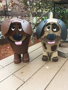 Clay Pot Crafts, Dog Crafts, Diy Home Crafts, Holiday Crafts, Pots D'argile, Clay Pots, Clay Pot People, Terracotta Flower Pots, Diy Crafts For Adults