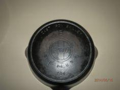 Vintage Griswold 704R Cast Iron Skillet 8 Large Slant Logo Heat Smoke Ring Pan | eBay