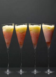 Pineapple Grapefruit Swirlss  http://www.gourmet.com/recipes/1980s/1987/08/pinneapple-grapefruit-swirls