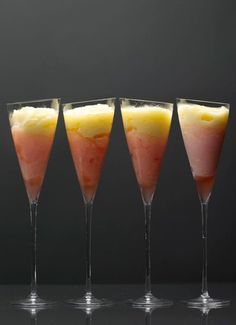 Pineapple Grapefruit Swirls: 1980s Recipes + Menus : gourmet.com