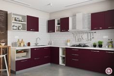 Kitchen Trends Latest Ideas and Designs for Every Kitchen - meenakshi - PickPin 2019 Kitchen Trends, Latest Kitchen Trends, Latest Kitchen Designs, Latest Trends, Kitchen Cabinet Design, Kitchen Layout, Kitchen Cabinets, Luxury Kitchen Design, Design Your Kitchen