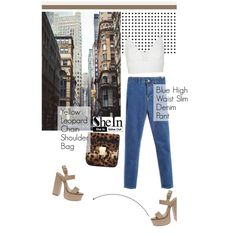 Street style: SheIn (3/4) by merima-kopic on Polyvore featuring moda, Narciso Rodriguez and shein