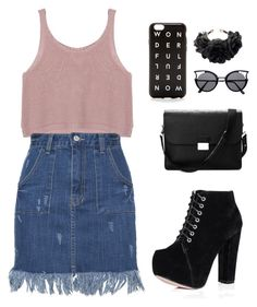 """""""Untitled #264"""" by paoxlita on Polyvore featuring Aspinal of London, J.Crew and Rock 'N Rose"""