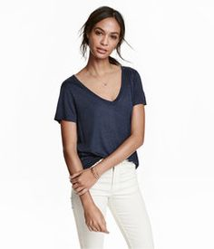 H&M V-neck Top Found on my new favorite app Dote Shopping #DoteApp #Shopping