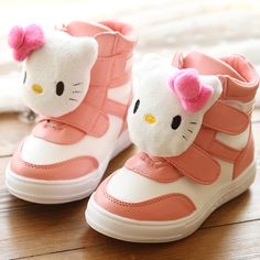 Cat winter 2013 princess cotton-padded shoes girls shoes sport shoes child snow boots ankle boots US $24.90