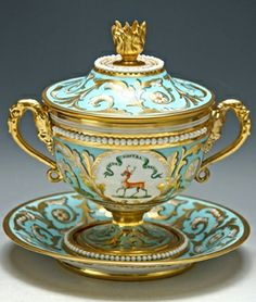 A Flight and Barr tureen, c 1815   .....................................Please save this pin.   ............................................................. Click on this link!.. http://www.ebay.com/usr/prestige_online