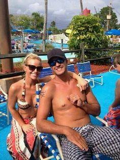 Luke Bryan and his beautiful wife