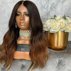 Remy Human Hair, Human Hair Wigs, My First Wig, High Quality Wigs, U Part Wig, Brown Ombre Hair, Luxury Hair, Lace Hair, Ash Blonde