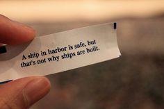 Open seas.