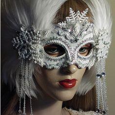 Custom Masquerade Masks for Halloween, Weddings & Mardi Gras by Gypsy Renaissance